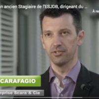 Stephane Scarafaggio, stagiaire ESJBB